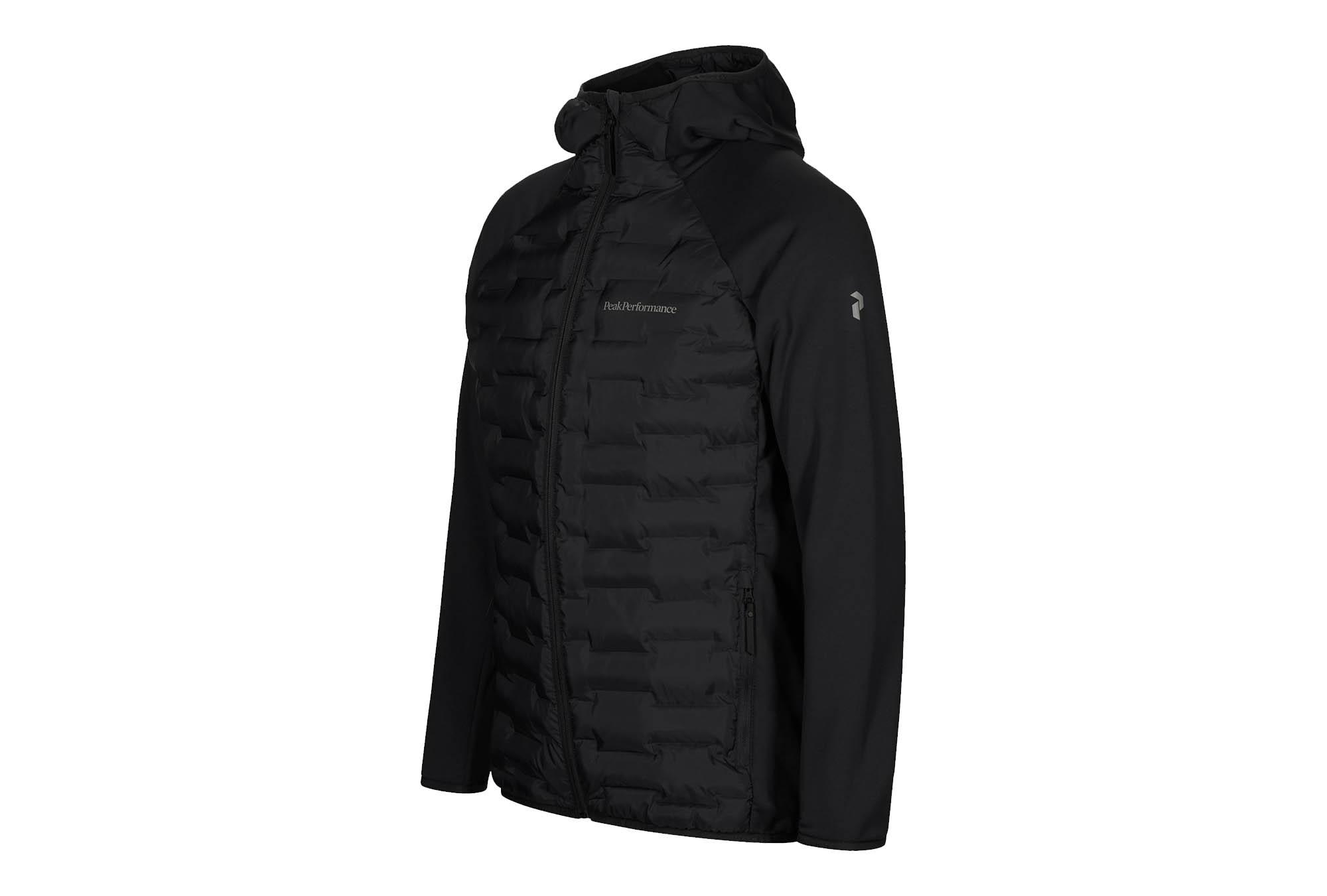 Winter 2020 Peak Performance World of Outdoor Sonthofen Allgäu Sportgeschäft Argon Hybrid Hood Jacket Black n